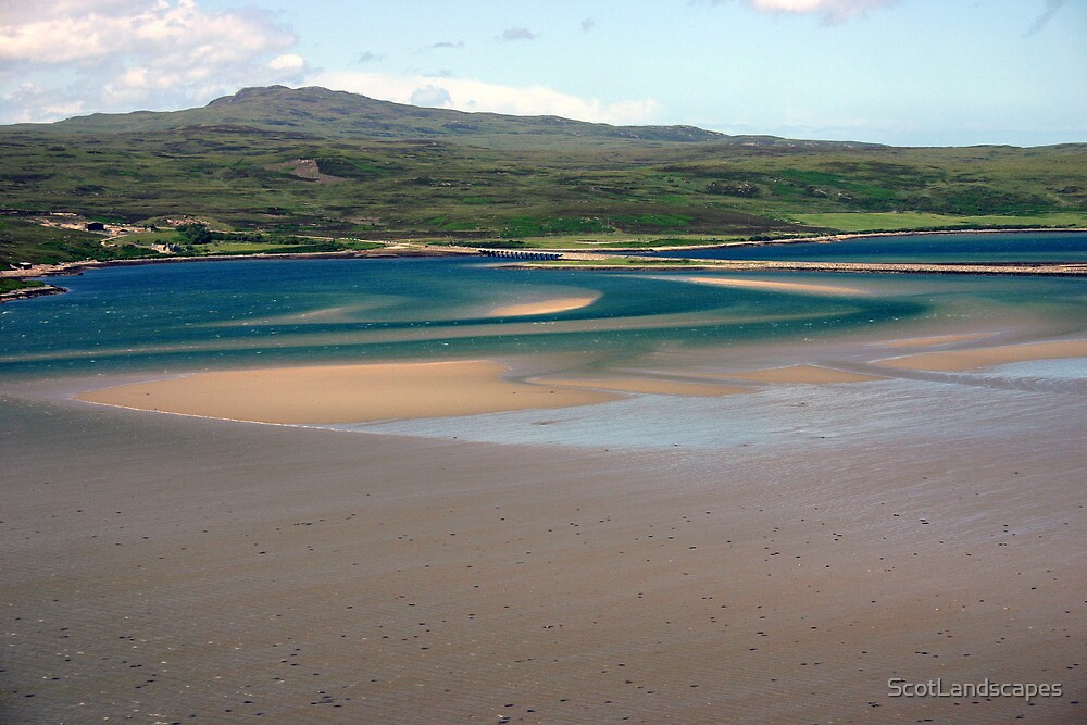 Sweeping Sands, Kyle of Tongue, Sutherland by ScotLandscapes
