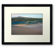Sweeping Sands, Kyle of Tongue, Sutherland Framed Print