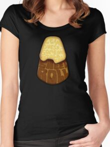 Let me guess... Someone stole your sweet roll? Women's Fitted Scoop T-Shirt