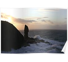 The Old Man of Stoer, Assynt Poster
