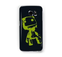 Little Big Planet Sackboy Green on Black iPhone Case Samsung Galaxy Case/Skin