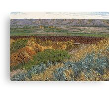 September Valley Canvas Print