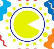 Pacmandala Sticker