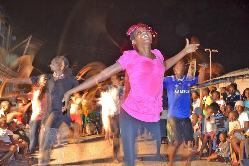 African Dancer by Shamila Chady