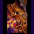 Purple Lights- Violin by deniigi