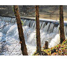 Fall Falls Photographic Print