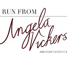 Angela Vickers by woahjonny