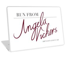 Angela Vickers Laptop Skin