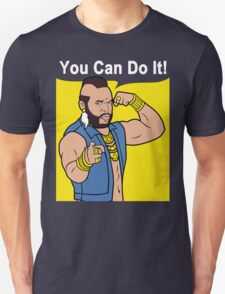 Mr T You Can Do It Gym Unisex T-Shirt