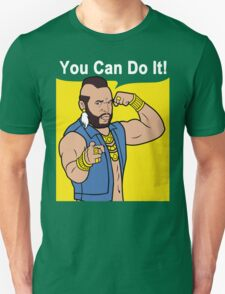 Mr T You Can Do It Gym T-Shirt