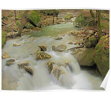 Sweet Indian Creeks Flowing Waters Poster