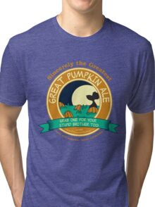It's the Great Pumpkin Ale Charlie Brown Tri-blend T-Shirt