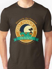 It's the Great Pumpkin Ale Charlie Brown Unisex T-Shirt