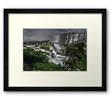 Devil's Throat Framed Print
