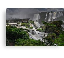 Devil's Throat Canvas Print
