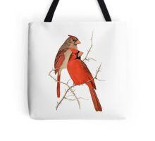 Vintage Cardinals Tote Bag
