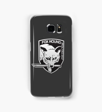 Fox Hound Special Force Group Samsung Galaxy Case/Skin