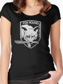 Fox Hound Special Force Group Women's Fitted Scoop T-Shirt