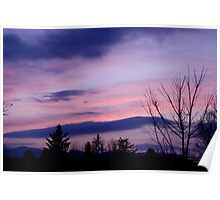 Pastel Sky Poster