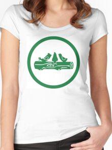 Camp Takota Logo Women's Fitted Scoop T-Shirt