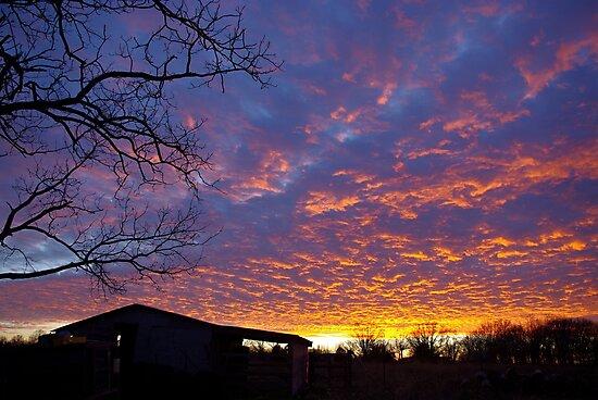 A Missouri Sunset by BayleeCook