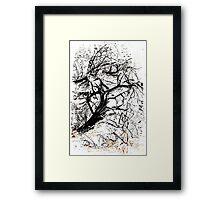 Art Tree Framed Print