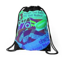 Occupy Wall Street Drawstring Bag