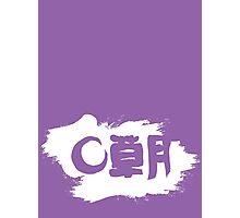 Sogetsu Ikebana (unofficial) reverse version Photographic Print
