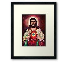 El Cristo Che Framed Print