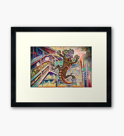Maquiladora Framed Print