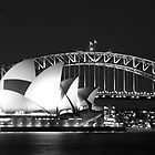 Sydney Harbour and Opera House by Andrew  MCKENZIE