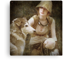 to live among wolves is to act like a wolf yourself Canvas Print