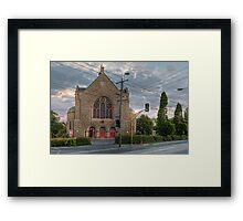 Basilica of Our Lady of Victories • Melbourne • Victoria Framed Print