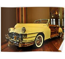1947 Chrysler Town & Country Convertable Poster