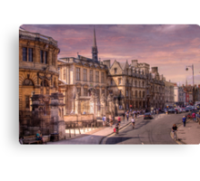 Sheldonian Theatre - Oxford, England UK Canvas Print
