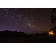 Starry Night. Halls Gap, Australia. Photographic Print