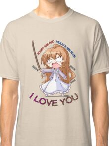 toradora taiga tsundere anime manga shirt Classic T-Shirt
