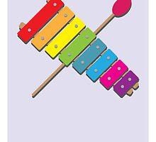 X is for Xylophone by Jason Jeffery
