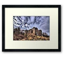 Rait Castle Framed Print