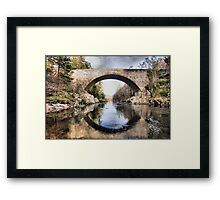 Over Findhorn Framed Print