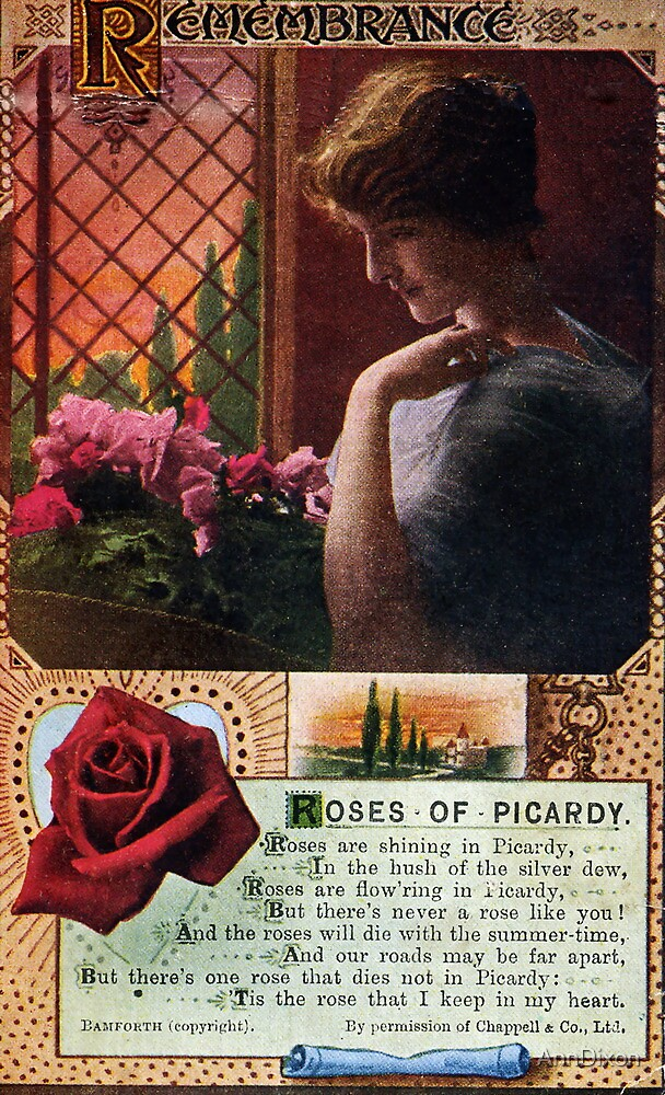 Roses of Picardy by AnnDixon