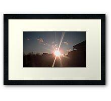 Planet's 7 Framed Print