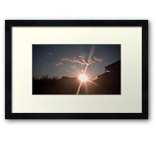 Planet's 11 Framed Print