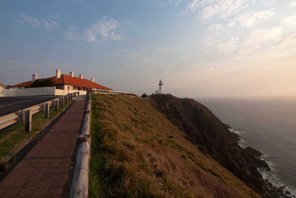 The Path to the Cape Byron Lighthouse by John Sharp