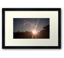 Planet's 15 Framed Print