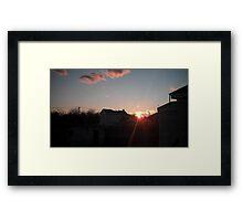 Planet's 17 Framed Print