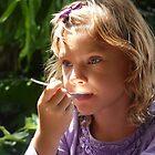 Eating Sunshine by byronbackyard
