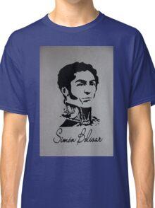 Mural to Simon Bolivar in Giron Classic T-Shirt
