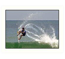 Surfing 5 Art Print