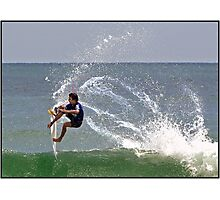 Surfing 5 Photographic Print